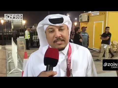 المعلق القطري محمد السعدي: العنابي مازال المرشح الاول لنيل اللقب.