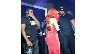 Cardi B performing Bodak Yellow @Play Sports Bar in Tallahassee, FL