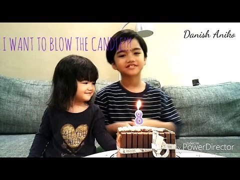 Happy Birthday song & blowing the candles and Cry, Funny Kids Video | HAPPY BIRTHDAY TO YOU,