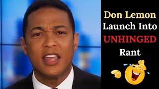 Unhinged Don Lemon Goes Full ANTIFA Live On CNN