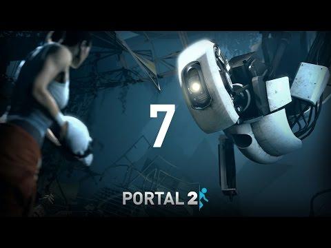 Portal 2   Let's Play   EP7 Traición y GLaDOS es una patata