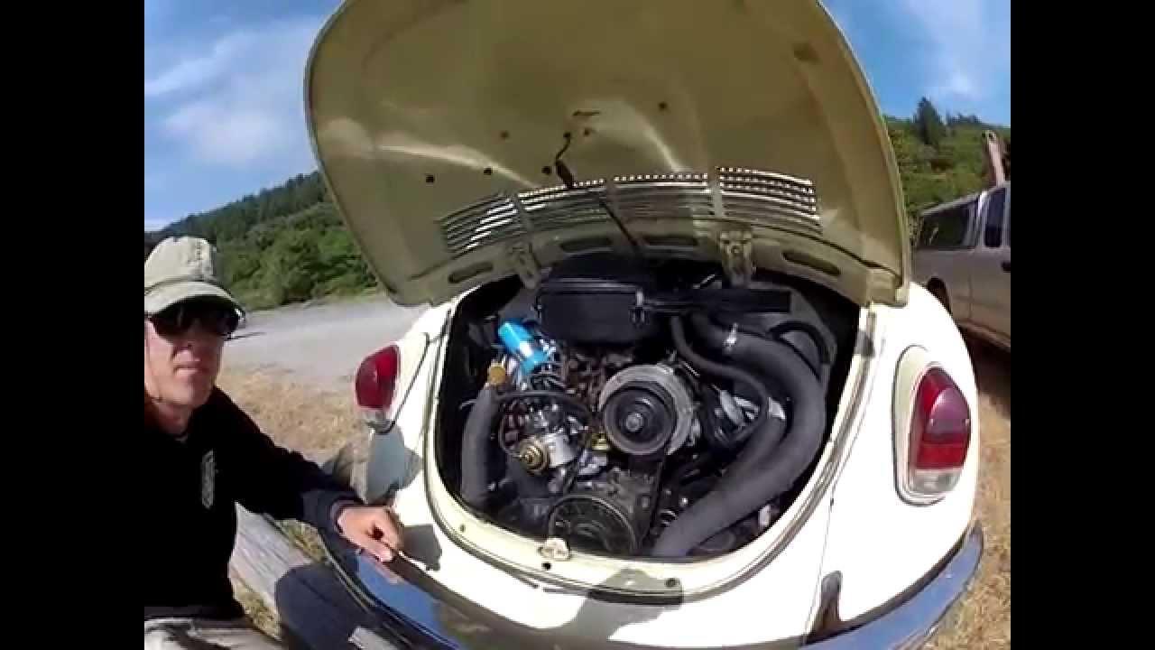 1970 Volkswagen Beetle Engine Running