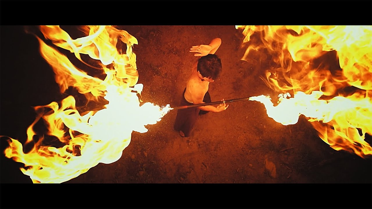 Real Fire Dragon: Taming Dragons (Fire Bending In Real Life In Slow Motion