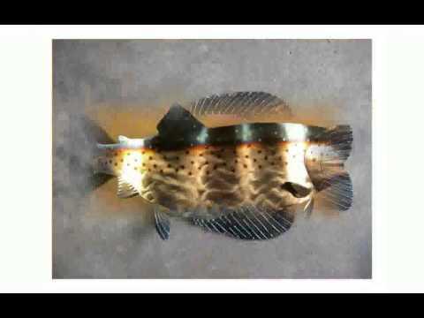 Metal Wall Decor Fish