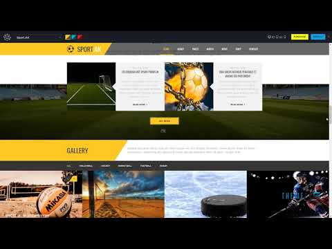 "Sport.AK -"" Soccer Club And Sport Joomla Template        Maddox Loyd"