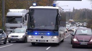 Polizeieinsatz in Leverkusen am 29.11.14 - Derby zwischen Leverkusen und Köln