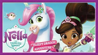 Nella The Princess Knight: Sleepy Dragon Adventure Children's Game  Nick Jr App For Kids Game Player