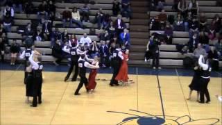 Silver International Standard Waltz & Quickstep at the 2012 Michigan Ballroom Dance Competition