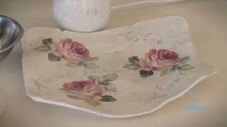 Arts & Crafts Tutorial: How to make Air-Dry Porcelain Clay