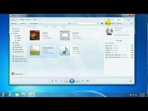 Tech Support: How To Burn An Audio CD With Windows Media Player