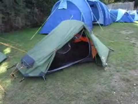 & Vango Banshee 200 2 Person Lightweight Tent - YouTube