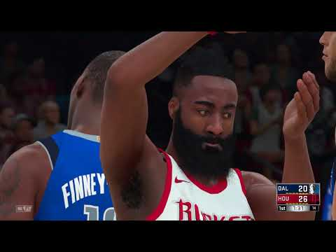 NBA 2K18 PS4 2017 2018 Season Play  Dallas Mavericks vs Houston Rockets