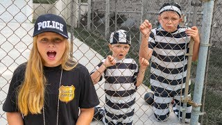 Kid Cop Assistant Captures Escaped Ryan and Officer Smalls With Little Heroes