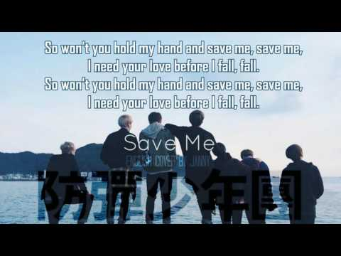 [Acoustic English Cover] BTS (방탄소년단) - SAVE ME by JANNY ft. LeonGuitar