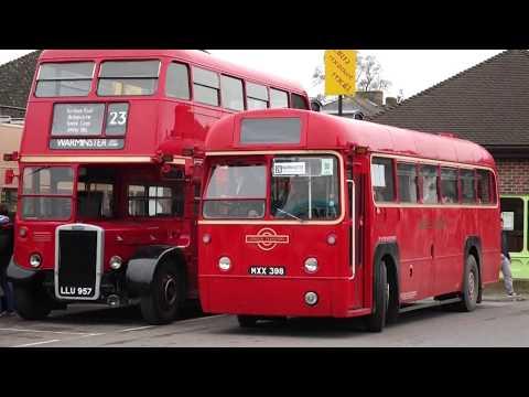 Warminster Vintage Bus Running Day 2017