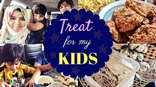 Kid's Favourites / KFC style fried chicken / Oreo Ice-cream / Pawns Biriyani / Idiyappam