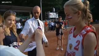 Сборная России по софтболу U22 Чемпионат Европы 2016 Награждение