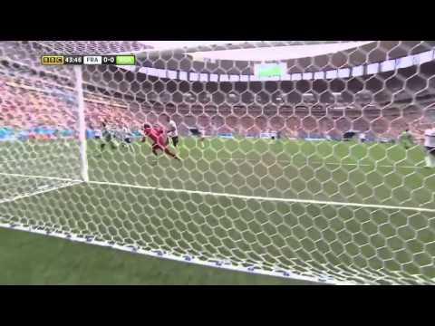 FIFA World Cup 2014 -  France vs  Nigeria Highlights   (BBC)