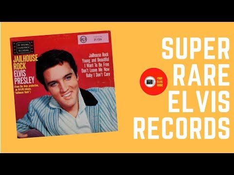Super Rare Elvis Presley Records: Jailhouse Rock LP South-Africa (1972)