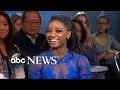 Simone Biles thought 'DWTS' judges pulled 'a Steve Harvey' with elimination news