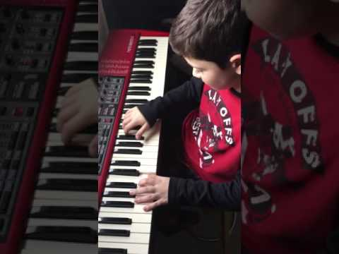 Nord Electro 3 original song by 12yr old Marcus