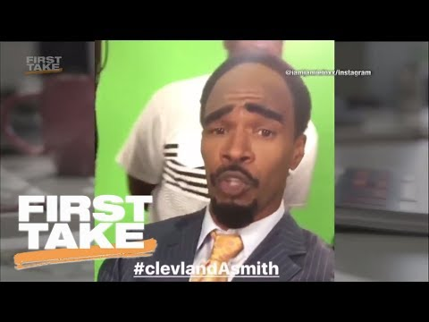 Stephen A. Smith reacts to Jamie Foxx's impersonation of twin brother | First Take | ESPN