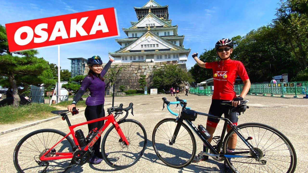 Best Cycling in Osaka 【4K】 Japan Cycling Tour  - 大阪 ロードバイク