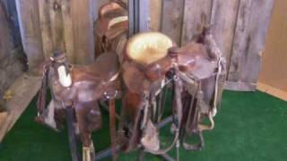 Rotating Saddle Rack