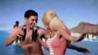 Britney Spears in Pepsi beach commercial