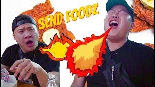 Death By Hot Chicken - SEND FOODZ Ep #6