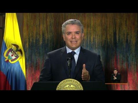 afpes: Duque clausura diálogo con ELN en Cuba tras atentado