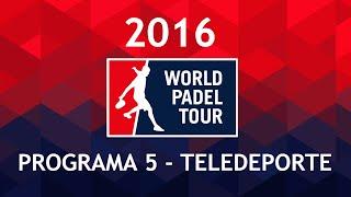 Teledeporte 5 | Estrella Damm Palma de Mallorca Open 2016