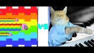 Nyan Cat vs. Keyboard Cat - Which Is Better?