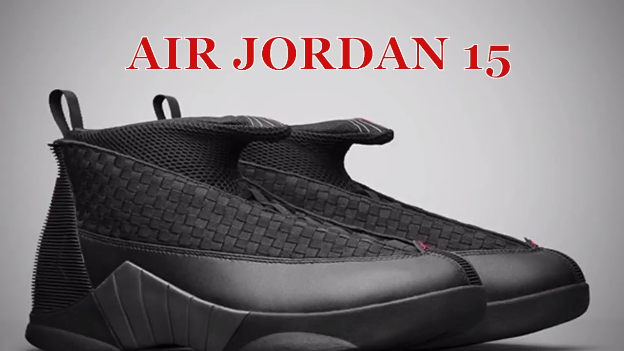 cea7f776fbd AIR JORDAN 15 (STEALTH) - YouTube