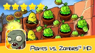 Plants vs  Zombies™ HD ROOF Level 04 Part 2 Walkthrough The zombies are coming! Recommend index five