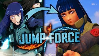 jump force how to unlock