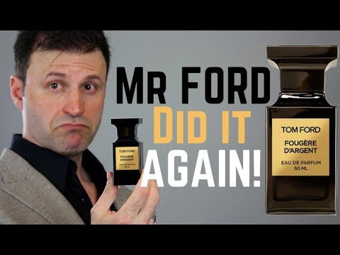 NEW Tom Ford Fougére D'argent REVIEW | Perfume/Fragrance