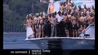 Video Swimming across the Bosphorus - no comment download MP3, 3GP, MP4, WEBM, AVI, FLV September 2018