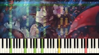 """Koutetsujou no Kabaneri OST -""""Through My Blood"""" Synthesia Piano Tutorial"""
