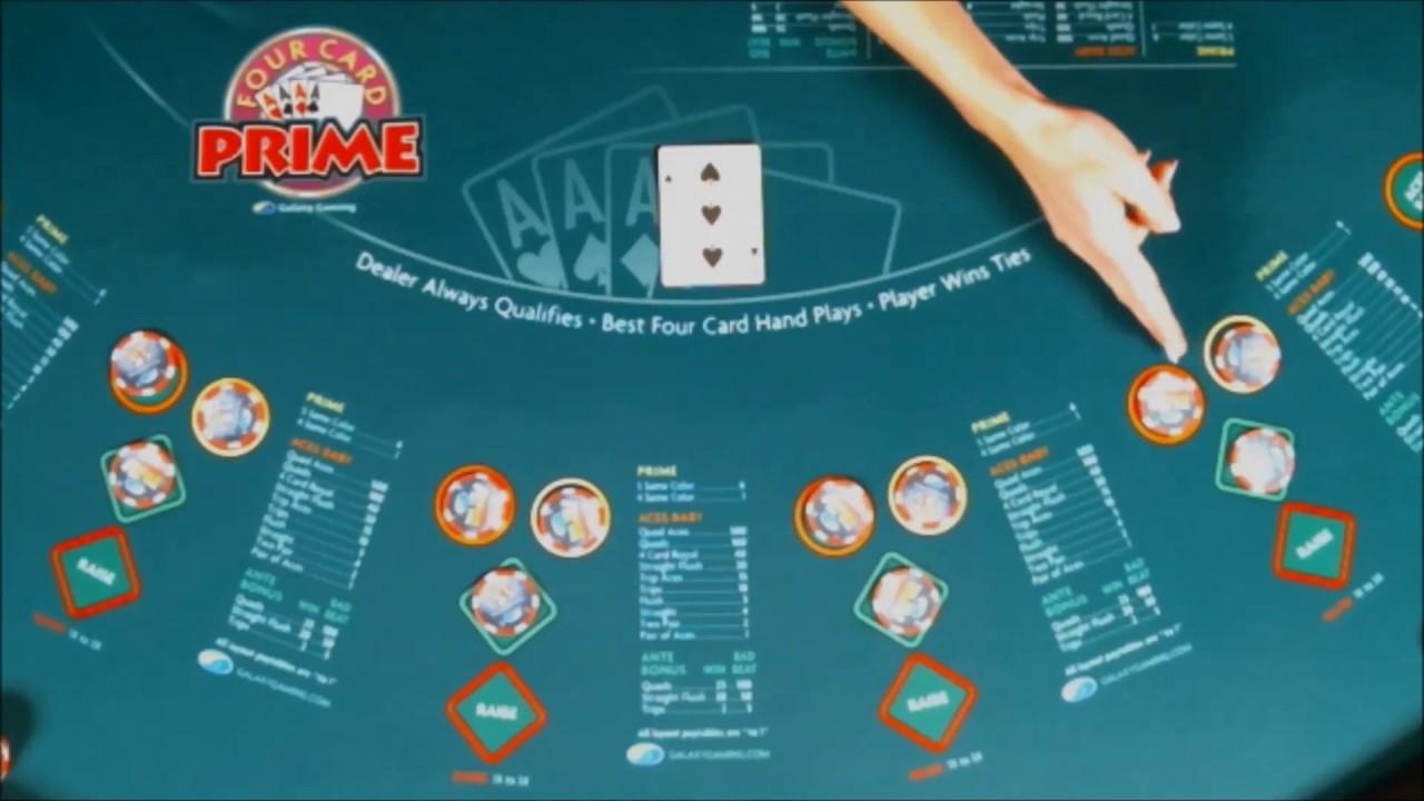 How do you play four card poker casino royale movie locations lake como