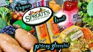 Huge Vegan Grocery Haul! | Sprouts | Prices Shown! | July 2019