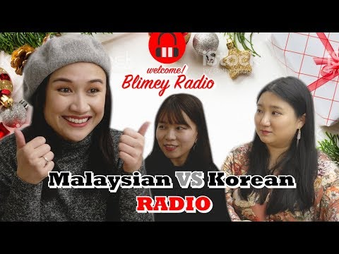 Korean girls run RADIO in Malaysian?! |Hani Fadzil Hallyu ERA X Blimey
