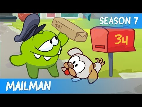 Mailman - Om Nom Stories: Dream job (Cut the Rope) - Cartoons for Children