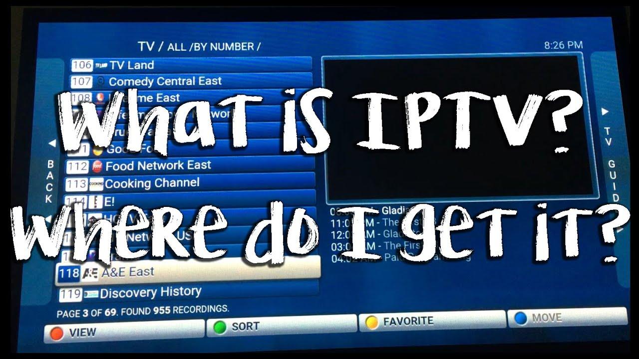 """Résultat de recherche d'images pour """"what is iptv"""""""