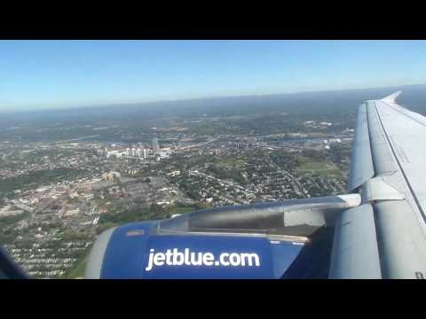 jetBlue Airways Airbus A320-232 Landing in Albany