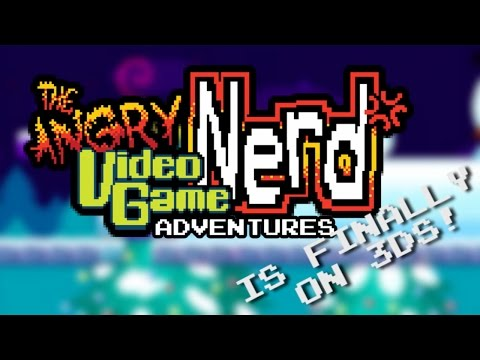 AVGN Adventures Nintendo 3DS Launch Trailer