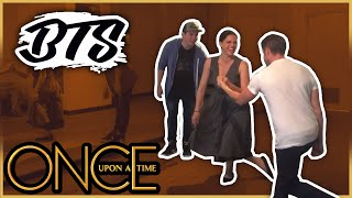 Lana Parrilla and Sean Maguire Dance Rehearsal