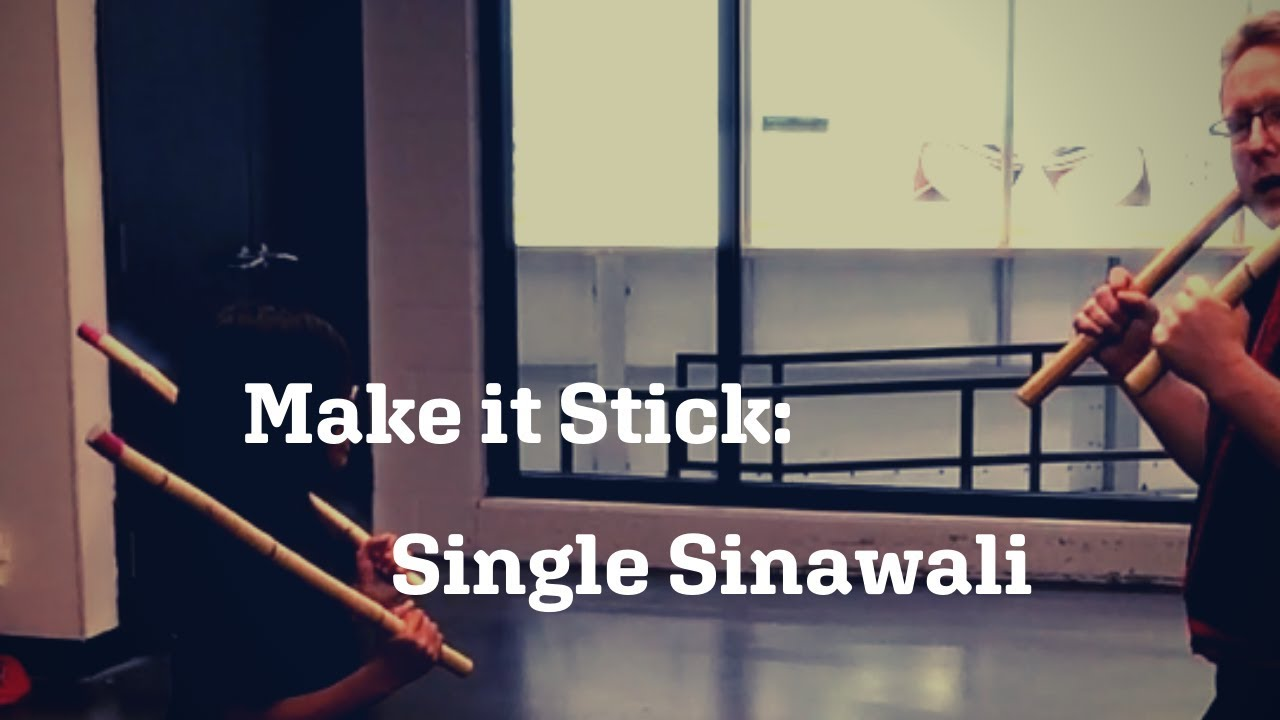 Arnis single sinawali
