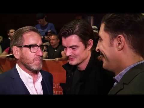 Michael Smiley and Sam Riley at the