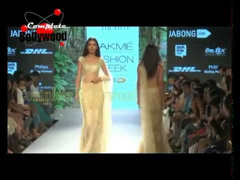 Celebrities & Models Walk the Ramp at Lakme Fashion Week Spring Summer 2015  Day4  1